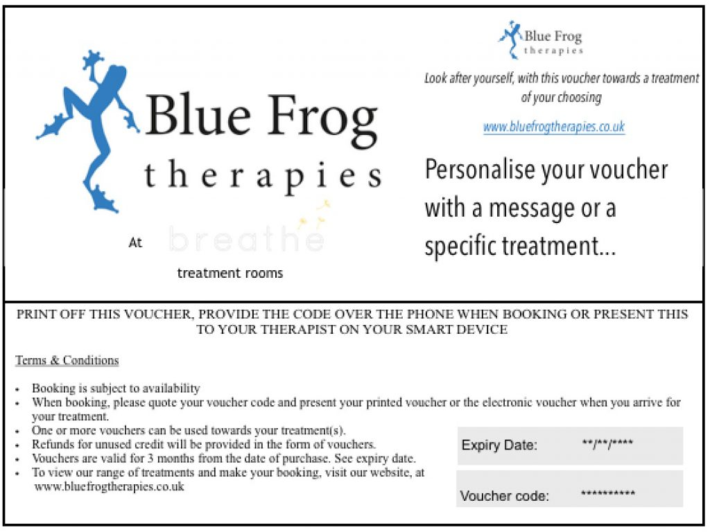 Personalised vouchers