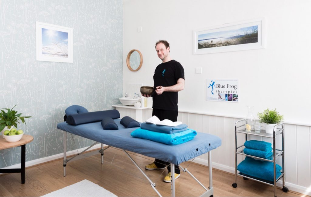 Treatment room with Ben