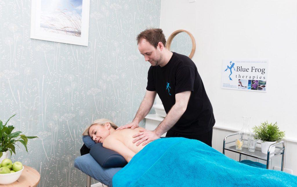 Therapeutic deep tissue massage