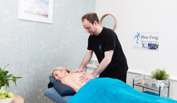 Therapeutic deep tissue massage