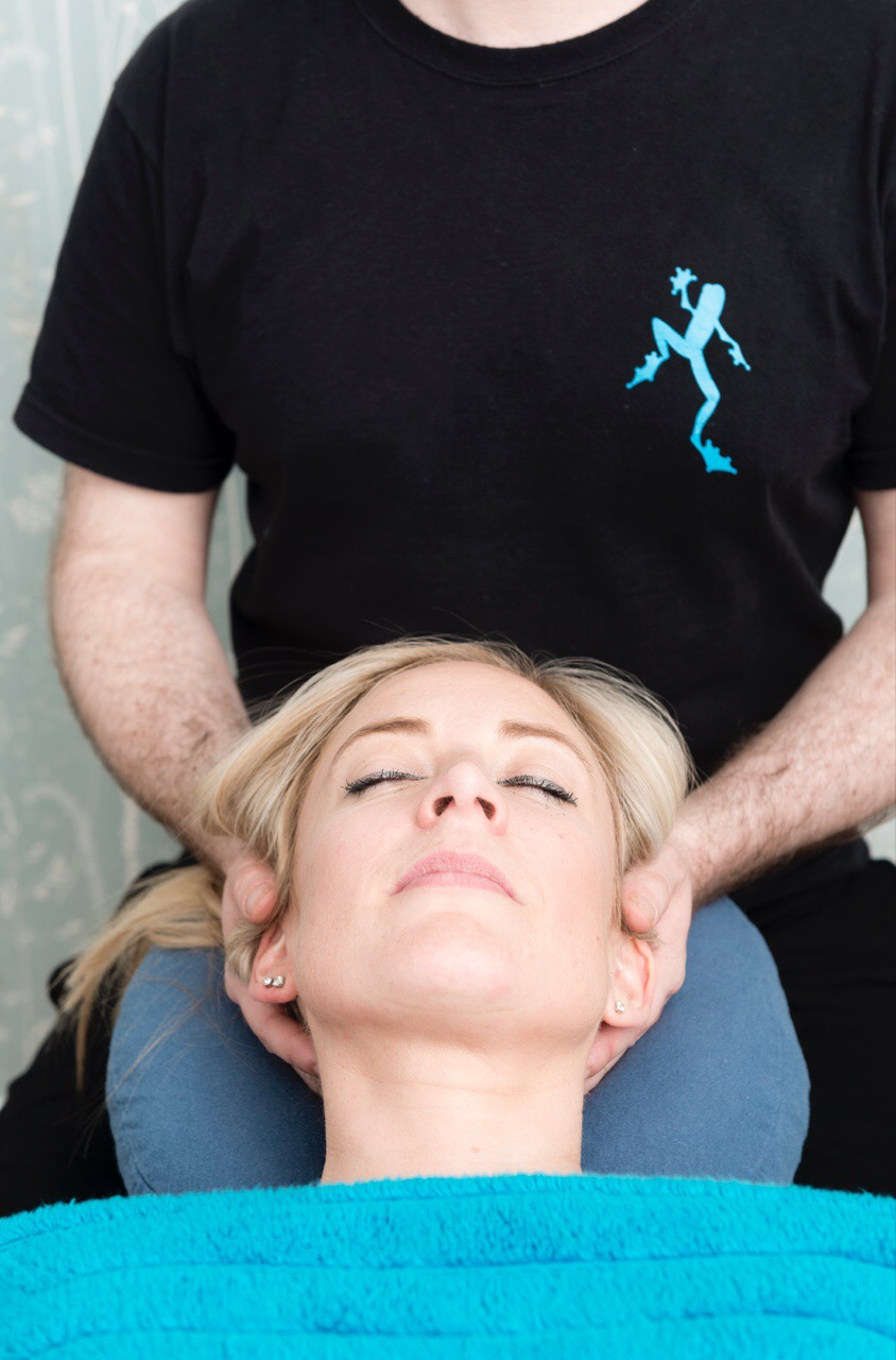 Head and neck massage