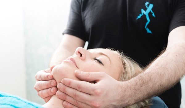 Soothing facial massage