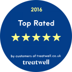 5 star reviews from treatwell